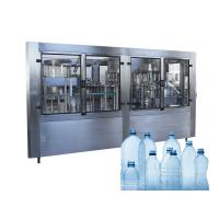 Pure Spring Water Barrel Filling Machine Washing Capping Sealing Labeling Line for sale