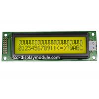 FSTN 20x2 Dot Matrix LCD Display Module 12 O ' Clock Angle ISO14001 Approved for sale
