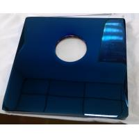 Blue Color PVD Coating on metal parts,   brass alloy PVD blue coating service for sale