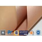 Non Stick Copper PTFE Coated Fiberglass Fabric PTFE BBQ Silicone Mat Food Grade for sale