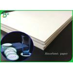 1.4MM Thickness White Absorbent Paper Sheet For Making Hotel Coaster for sale