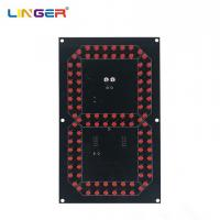 China 8 Inch 7 Segment Digit Led Components For Scoreboard , 5mm Diameter Diode for sale