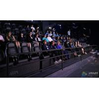 China Elegant 3 Degrees Of Freedom Interactive 5D Cinema Chair With 12 Special Effects for sale