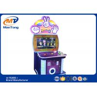 Redemption Game Scissors Stone Cloth Arcade Ticket Lottery Machine Coin Operated for sale