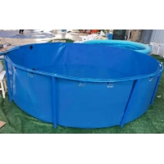 5000L Flexible Metal Frame PVC Tarpaulin Fish Tank for sale