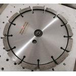 China 200mm Laser Diamond Tuck Point Saw Blade For cutting Concrete with 15mm thickness for sale