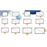 15inch 55inch TEN Points Pct Touch Panel With ILITEK EETI ATMEL IC