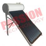 China 150L Energy Saving Integrative Pressurized Rooftop Heat Pipe Solar Water Heater for sale