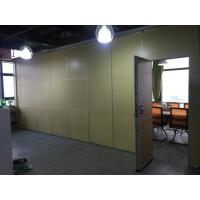 Thermal Insulation Folding Acoustic Partition Wall For Space Division Customized Color for sale