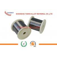 650c FeCrAl Alloy  Wire Rod In Coil 0.02-10mm Bright Alloy 750 Stablohm for sale