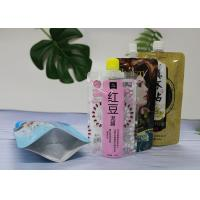 China Colorful Printed Liquid Spout Pouch For Washing Laundry Detergent / Stand Up Pouch With Spout supplier