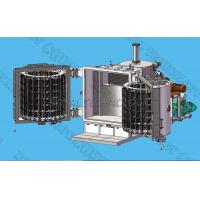 2 - Doors Copper PVD Vacuum Coating Machine,  Resistance Thermal Filament Evaporation Metallizing System for sale