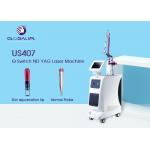 Single Pulse ND YAG Laser Machine 532nm For Pigment Depossit Dispelling for sale