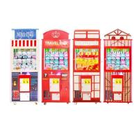 China Fiberglass Funny Singapore Toy Claw Machine For Playground British Style for sale