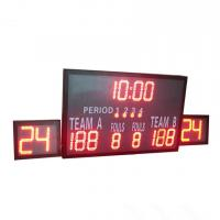 China Outside Multi Portable Basketball Score Clock , Basketball Game Scoreboard for sale