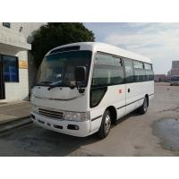 China Big Passenger Coaster Star Travel Buses Durable Red With 19 Seats Capacity for sale