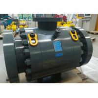 DBB Anti - Static MSSP Flanged Ball Valve / Trunnion Mounted Ball Valve for sale