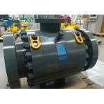 High Pressure DBB Anti-static MSSP Flanged Trunnion Mounted Ball Valve for sale