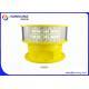 Flashing Mode Aeronautical Obstruction Light High Borosilicate Glass Material for sale