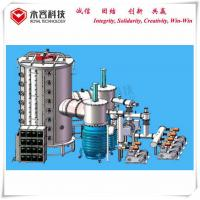 Stainless Steel Sheets Vacuum Coating Equipment , Large size SS sheets Multi Arc Coating Machine for sale