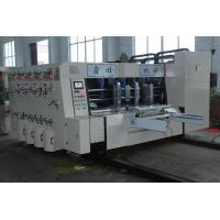 China High Precision Carton Making Machine 15kw - 30kw With 20crmnti Alloy Steel Transmission supplier