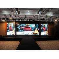 China Indoor Performance LED Public Display , Rugged Large LED Screens For Concerts for sale