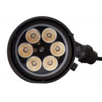 China Outdoor Ground Spotlights 15 Watt Die Cast Solid Brass Material For 5 STAR Hotel for sale