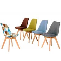 Upholstered Dining Room Chairs With Solid Wood Legs for home