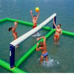 China Inflatable aqua park Sports, Inflatable Water Volleyball field factory