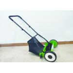 Four Wheel Garden Lawn Mower Plastic And Metal Material 40L Grass Bx for sale