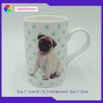Straight Bulk Modern Coffee Mug Set Personalized Logo Ceramic Coffee Cup Set for sale