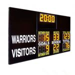 China Standard Aussie Rules AFL Electronic Scoreboard , Afl Football Scoreboard With 12 Digit for sale
