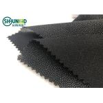 China Eco-friendly Double Dot Twill woven fusible interlinings for business casual suit  Fusing Interlining for sale