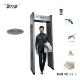 High Sensitivity Metal Detector Gate , Single Zone Walk Through Metal Detector for sale