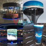 High Brightness Waterproof IP65 Ball LED Display 62500 Pixel/M2 for sale