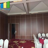 Sliding Door Partition Wooden Folding Partition Walls For Banquet Hall for sale