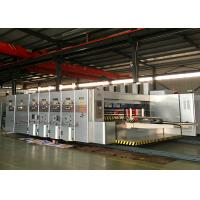Fully Automatic Corrugated Box Flexo Printing And Die Cutting Machine for sale