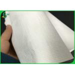 White 1443r Inkjet Printing 43gsm Tyvek Printer Paper Rolls For Making Cosmetic bag for sale