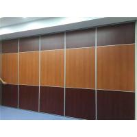 Melamine Surface Acoustic Partition Wall , Banquet Hall Removable Movable Walls for sale