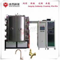 Faucet PVD Titanium Nitride Coating Machine, PVD  Ion Plating With  TUV CE Certification for sale