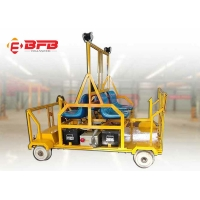 Lithium Ion Battery Railway Track Inspection Trolley Heavy Duty