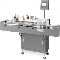 China Round Bottle Automatic Labeling Machine , Side Face Labeler Easy Maintain for sale