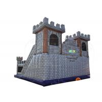 China Large Size Inflatable Bounce House Combo Waterproof For Amusement Park supplier