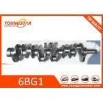 Steel Alloy Engine Crankshaft For ISUZU 6BG1 HRC 40 1-12310-448-0 , 1123104480 for sale