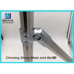 Creform Joints For Pipe Fittings Fixed Chromed Metal Joints Silvery HJ-9D for sale