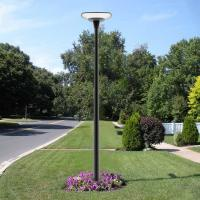 Outdoor Column Solar Powered Smart Garden Motion Sensor LED Lights for sale