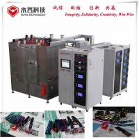 China Stainless Steel 316 PVD Plating Machine For Writing Instrument / Pen Parts for sale