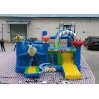 Sealife Inflatable Combo Bouncy Castle With Slide For Kids Inflatable Playground Party Time for sale