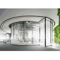 Curved Shape Switchable Smart Glass for Office / Meeting Room with PDLC Smart Film