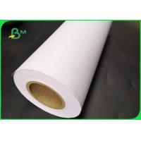 China FSC Certified 70gsm 80gsm CAD Inkjet Plotter Paper Roll Size A1 A0 For Drawing supplier